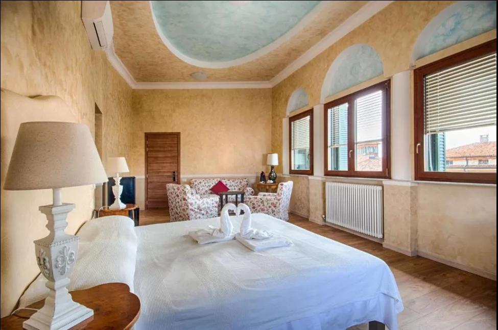 Photo of iconic Castle Castelvecchio next to river Adige in the heart of Verona, Veneto, Italy