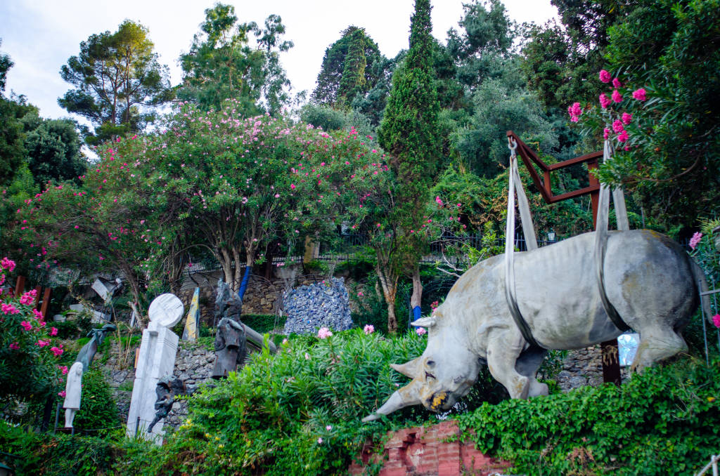 museo del parco in portofino