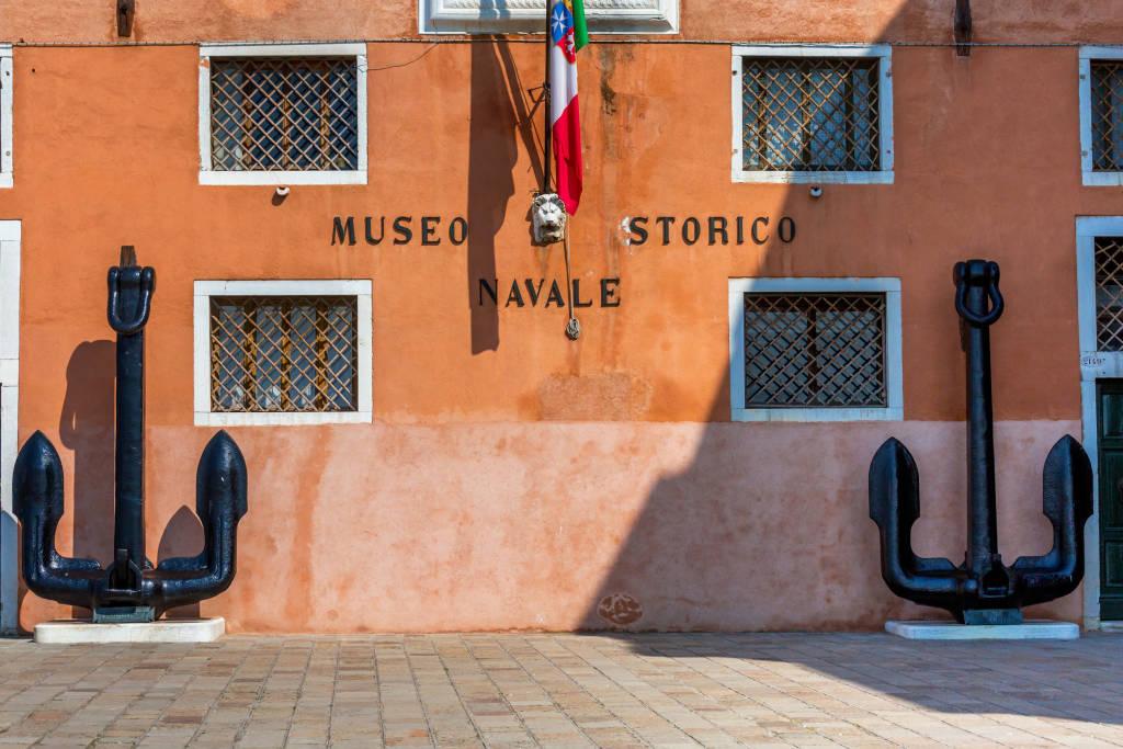 VENICE, ITALY - MAR 19 - Venice Naval  History museum  ( italian : Museo Storico Navale di Venezia) , on Mars 19, 2015 in Venice, Italy.