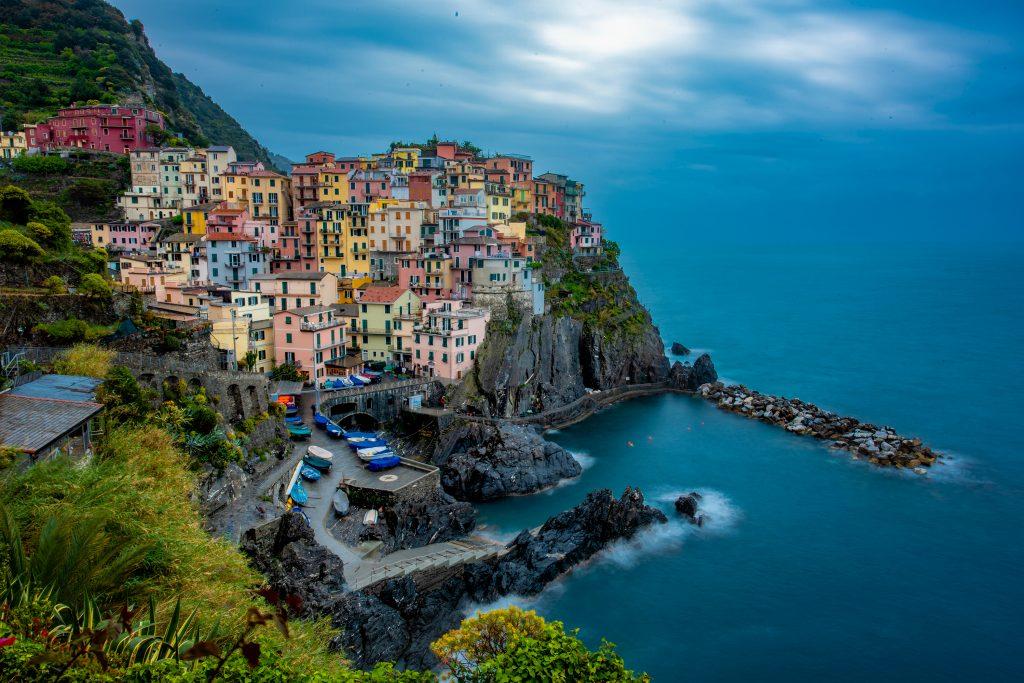 Beautiful Panaroma view of Italy