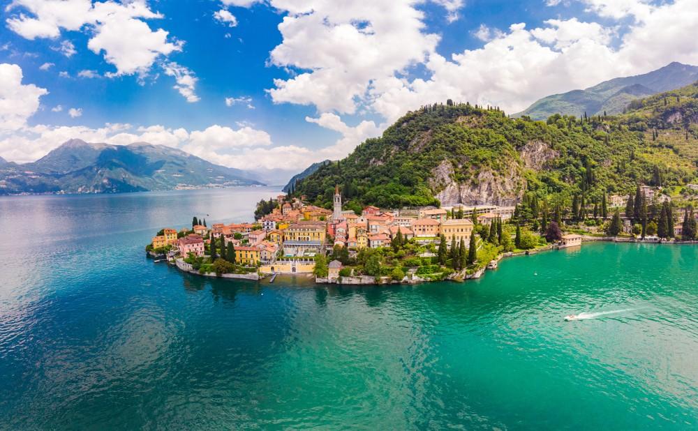 jezioro Como noclegi Włochy
