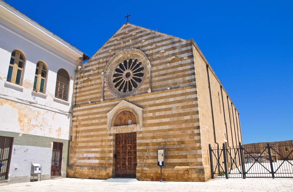 Church of Cristo. Brindisi. Puglia. Italy.