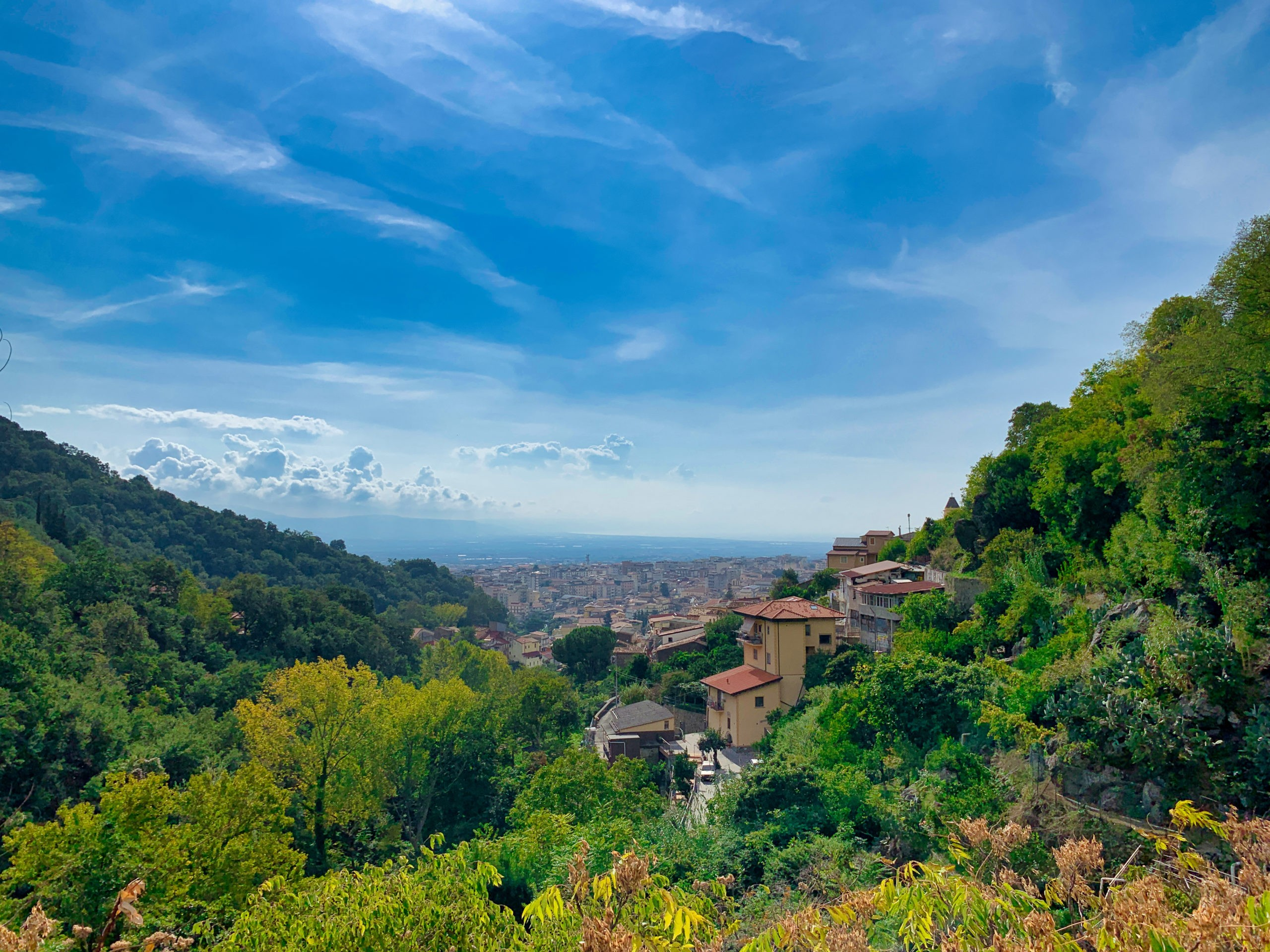 Panorama miasteczka Nicastro, części Lamezia Terme, fot. shutterstock.com