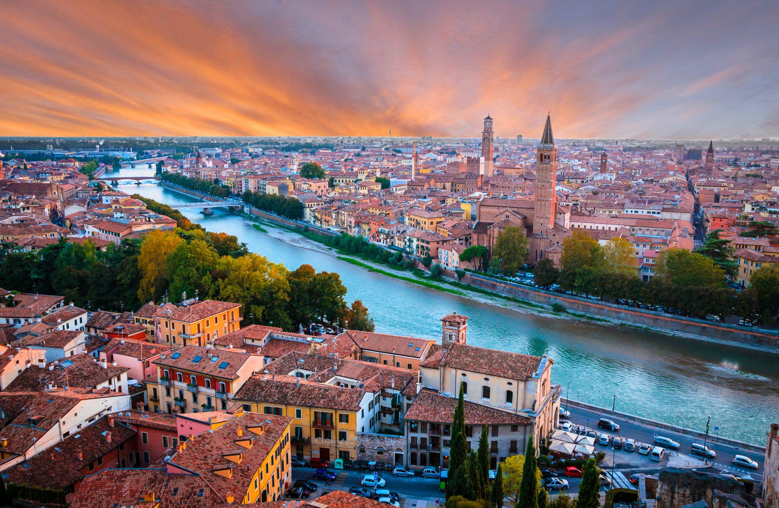 Jak dojechać do Werony z Mediolanu, Bergamo lub Wenecji