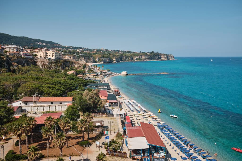 Spiaggia della Rotonda Beach, Tropea, Calabria, Italy