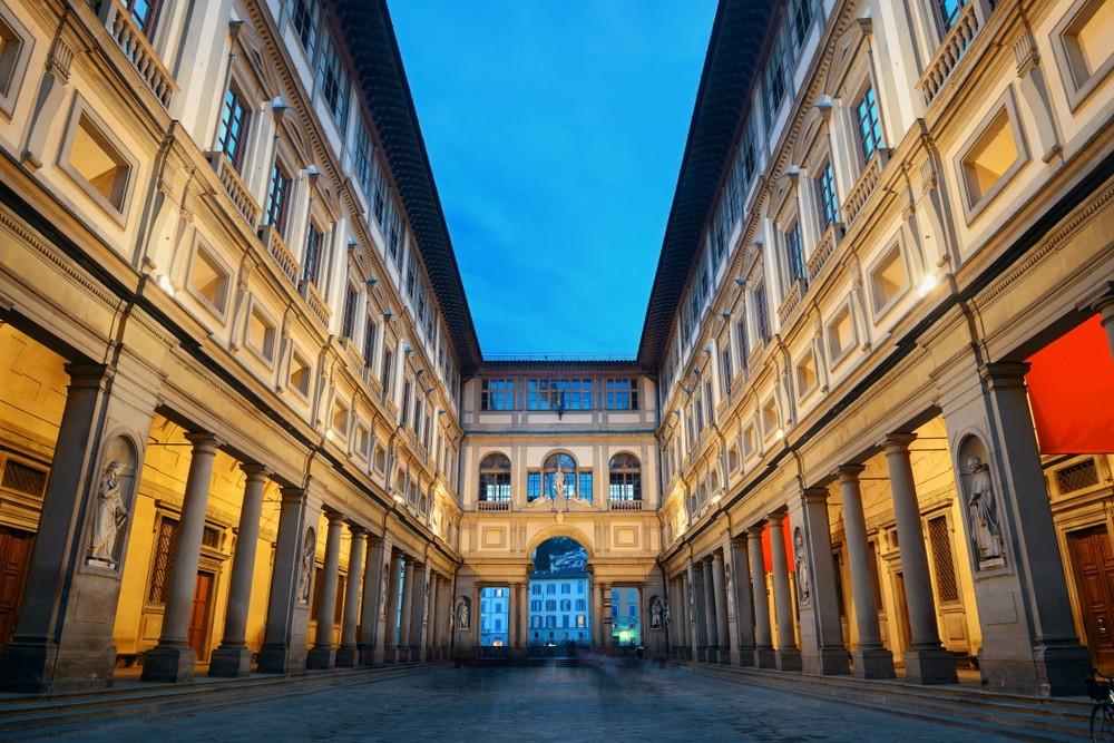Galeria Uffizi we Florencji, fot. shutterstock.com