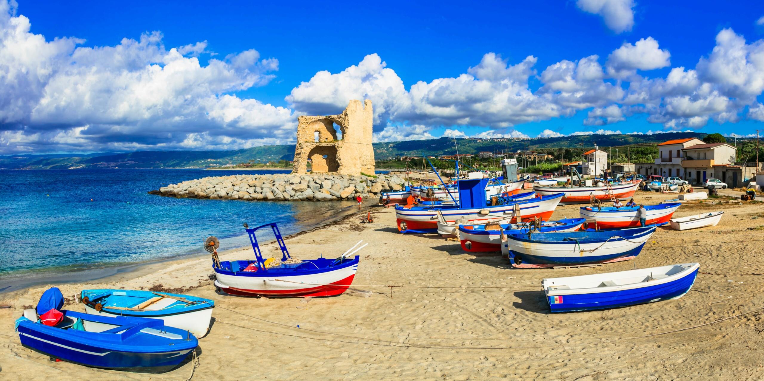 Briatico, plaża, Włochy