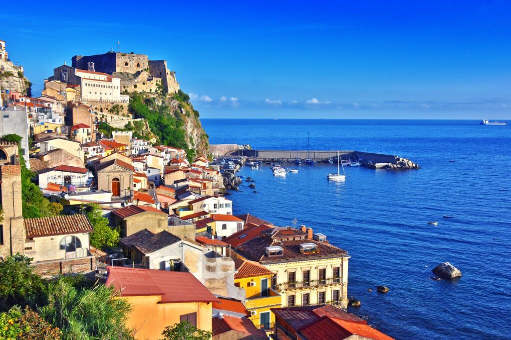 The,City,Of,Scilla,In,The,Province,Of,Reggio,Calabria,