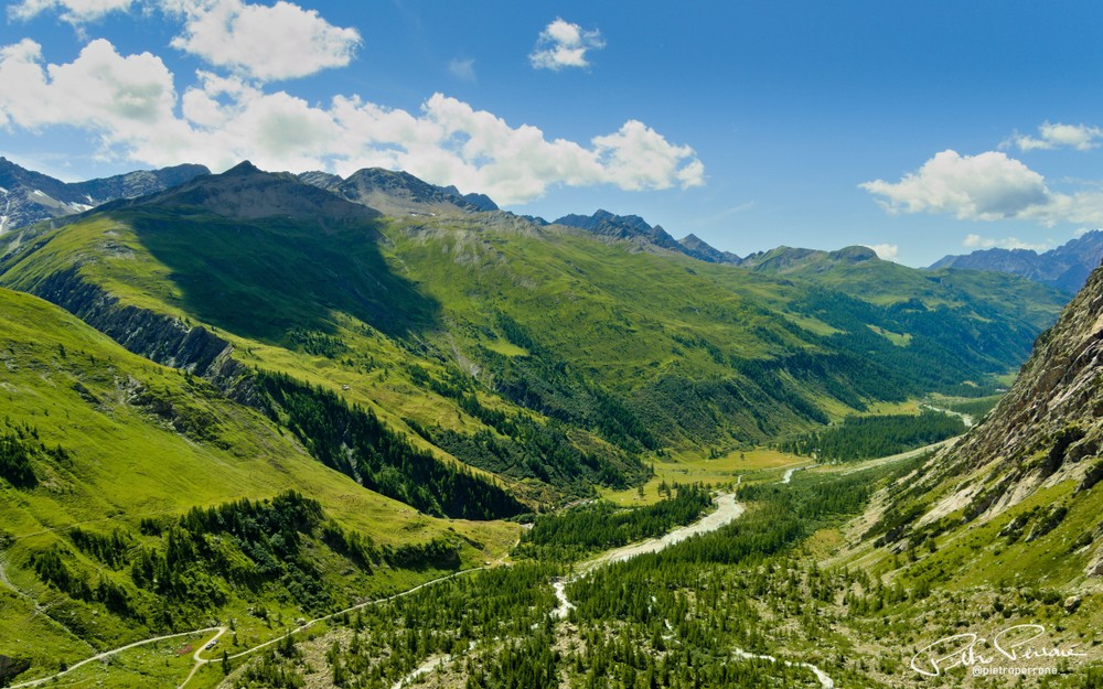 Val,Ferret,,Aosta,Valley,(italy), ,August,3,,2019:,Summer