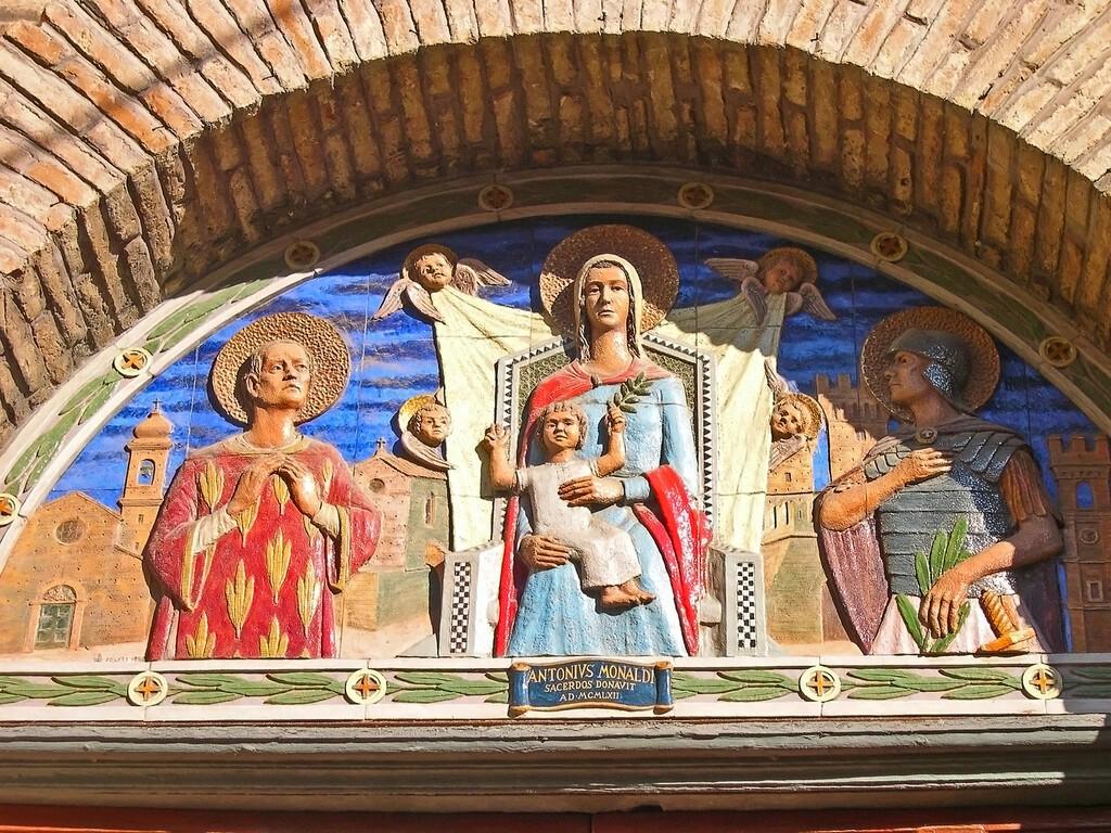 "Marche,,Castelfidardo,€"",September,24,,2006:,Collegiata,Di,Santo,Stefano"