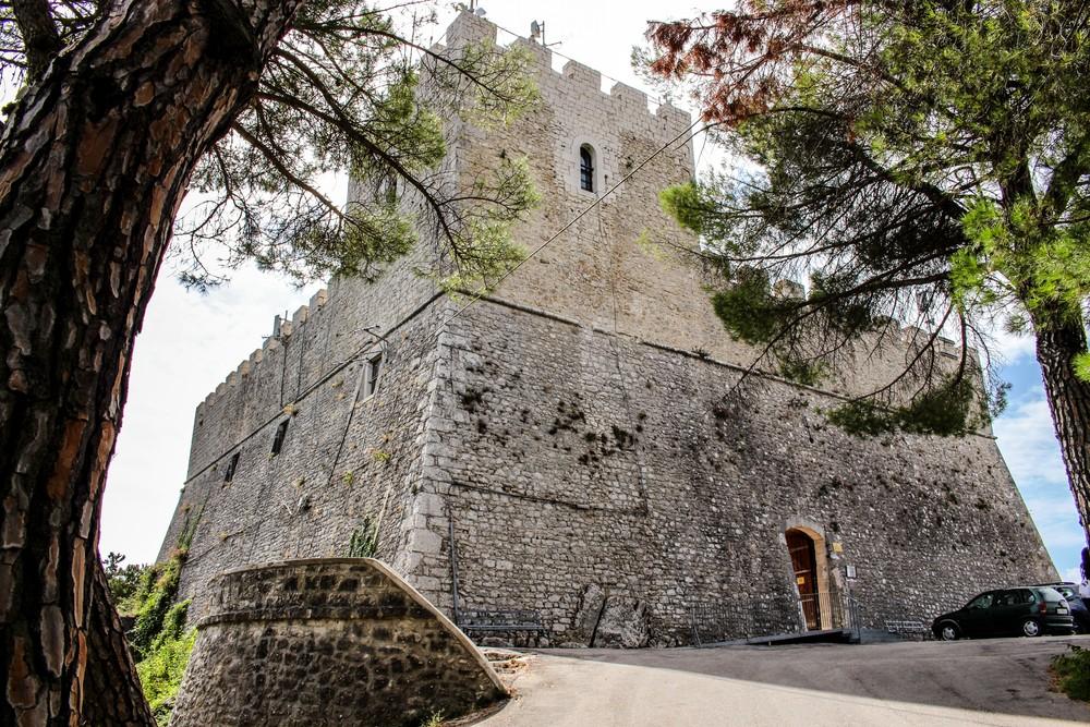 View,Of,The,Monforte,Castle,,Campobasso
