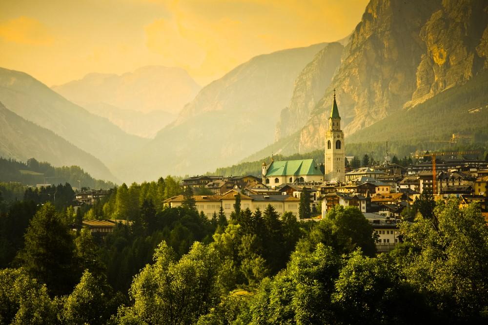 Cortina d'Ampezzo, Włochy, fot. shutterstock.com