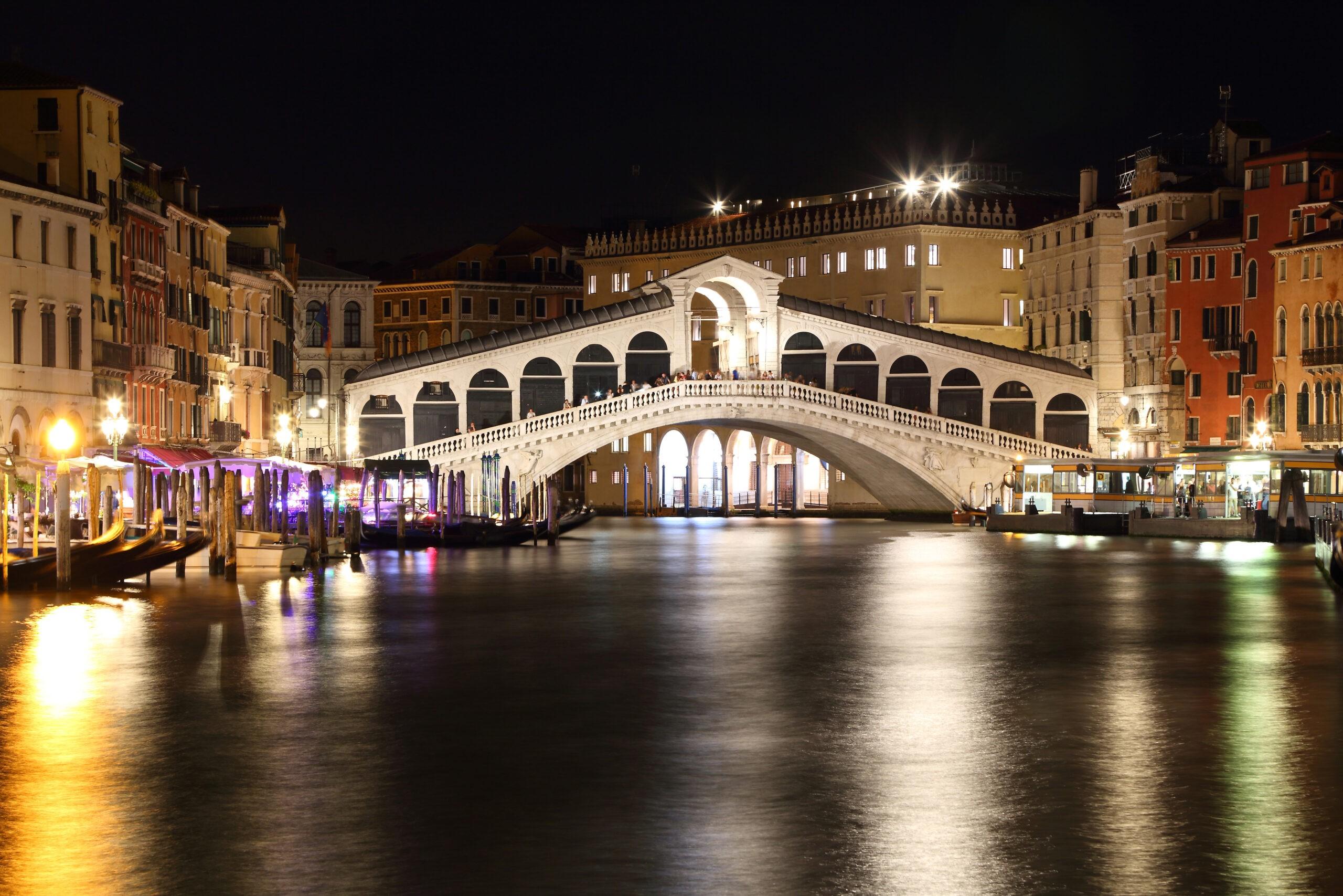 Wenecja Euganejska - Wenecja nocą, Włochy