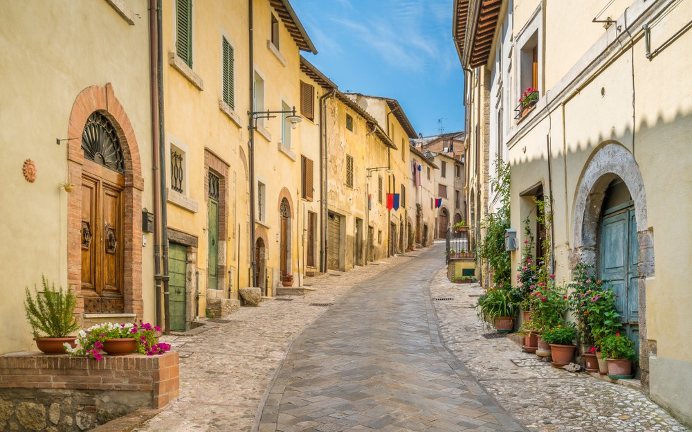 Amelia, ancient and beautiful town in the Province of Terni, Umbria, Italy.