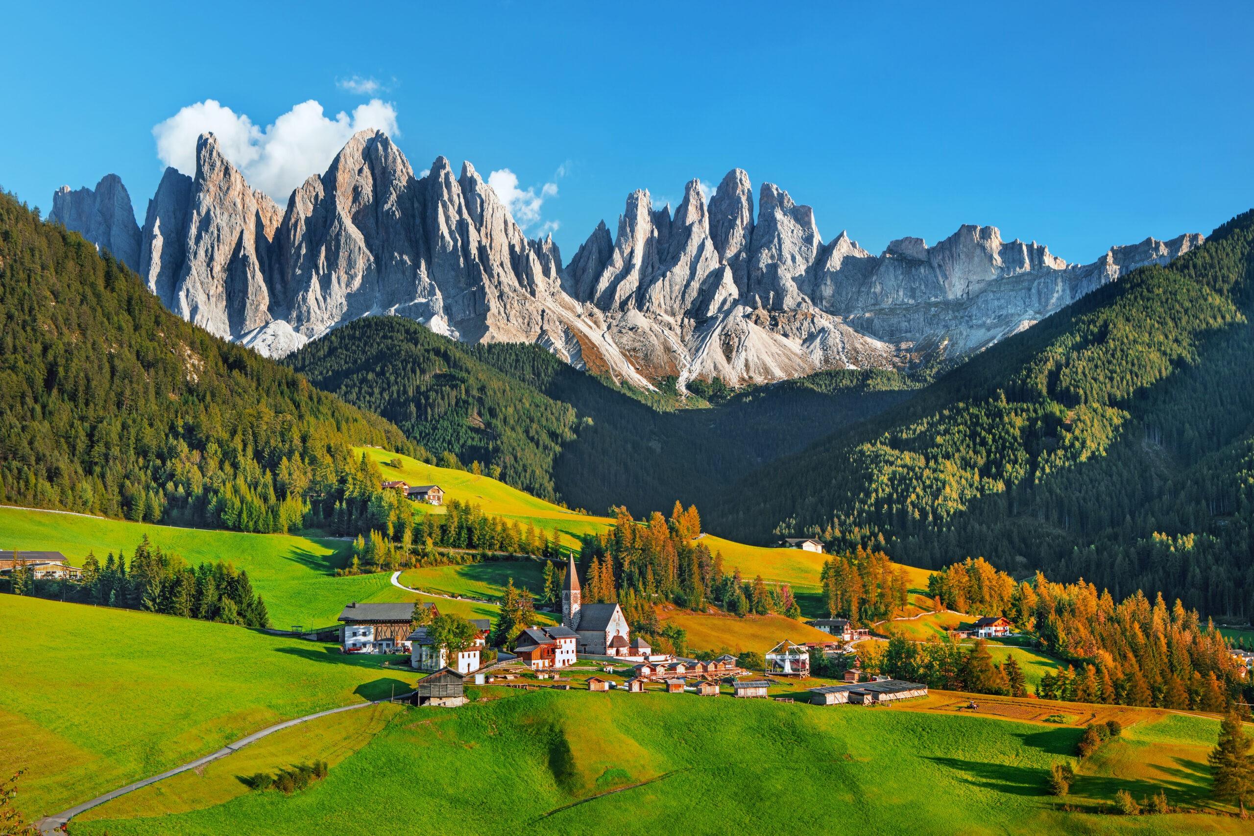 Wakacje w Dolomitach, lato, Włochy