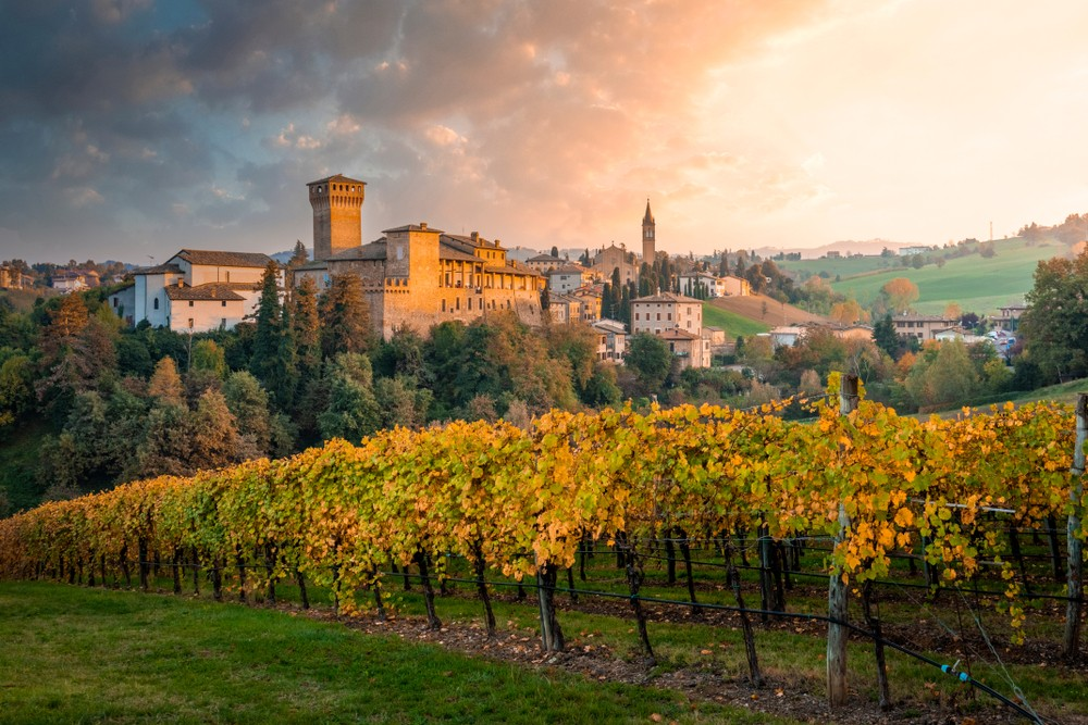 LevLevizzano Rangone, Castelvetro di Modena, Emilia Romania, Włochy, fot. shutterstock.com
