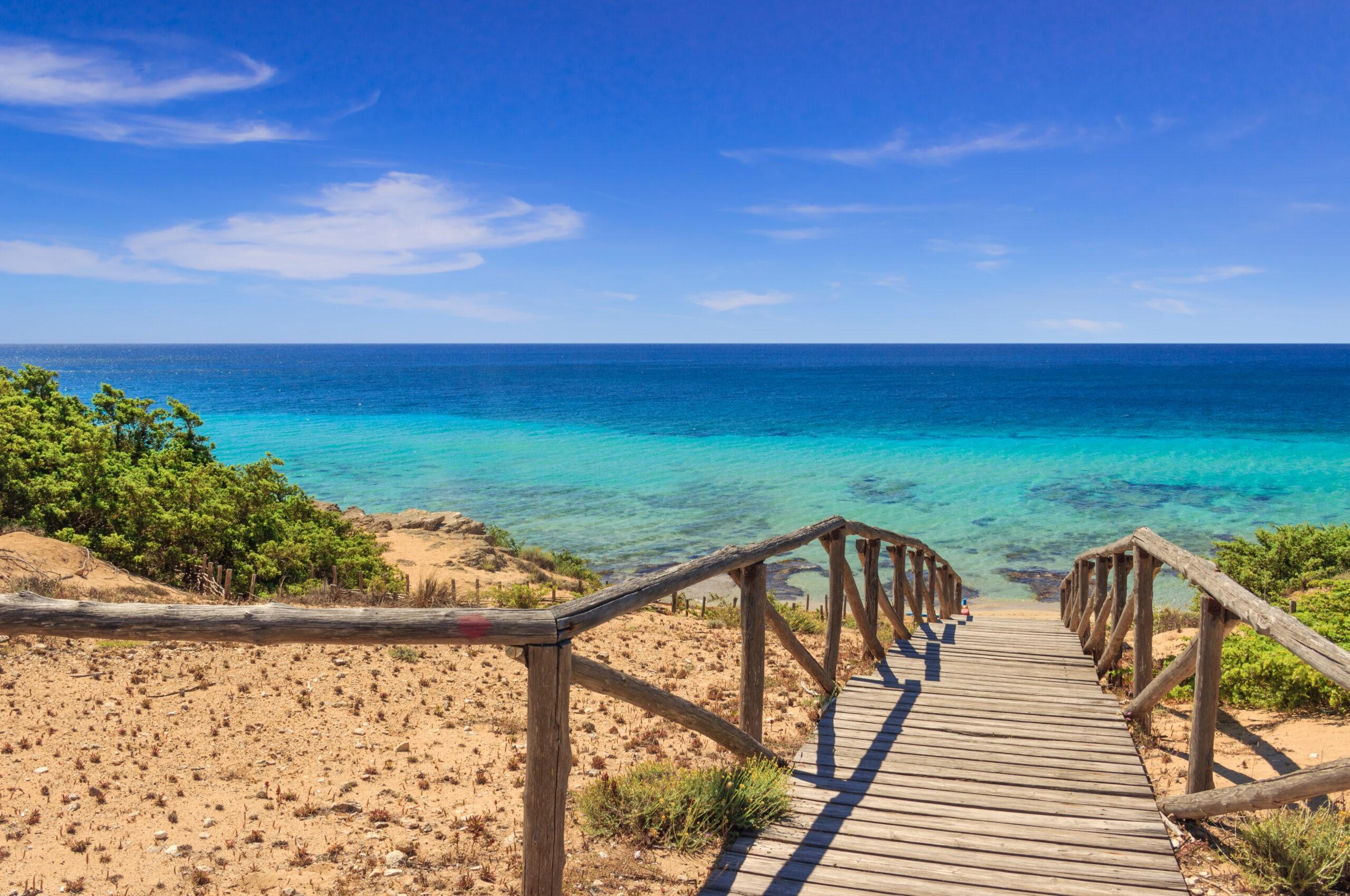 Piękne plaże Apulii, Włochy
