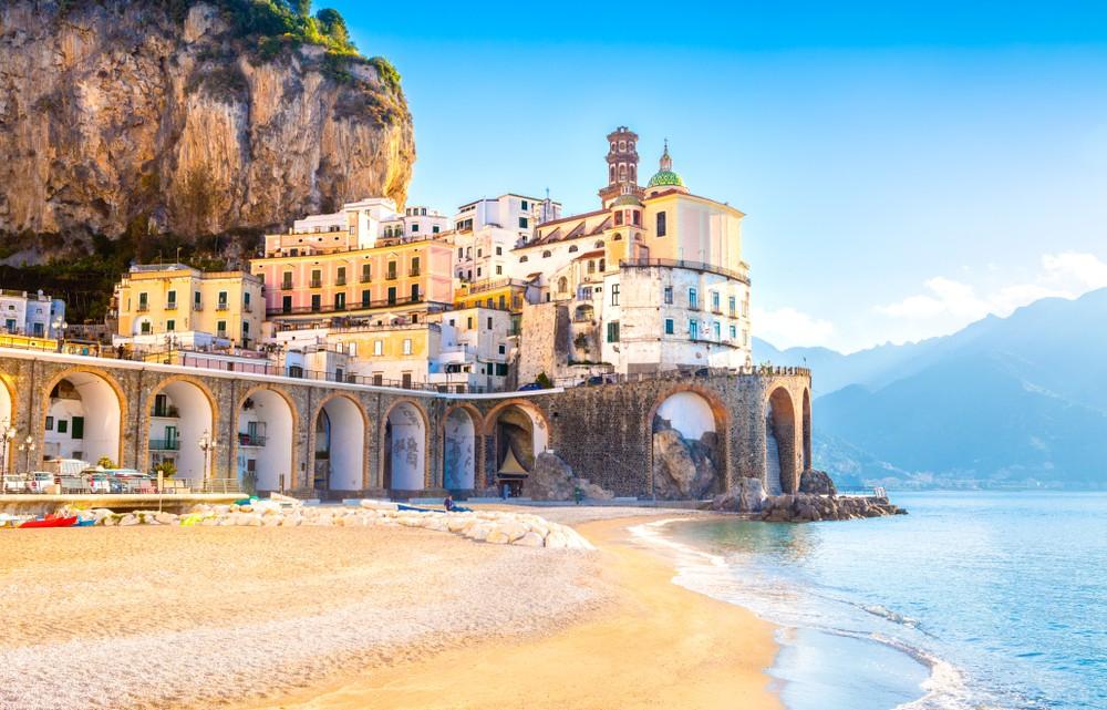 Najpiękniejsze plaże w Kampanii, fot. shutterstock.com