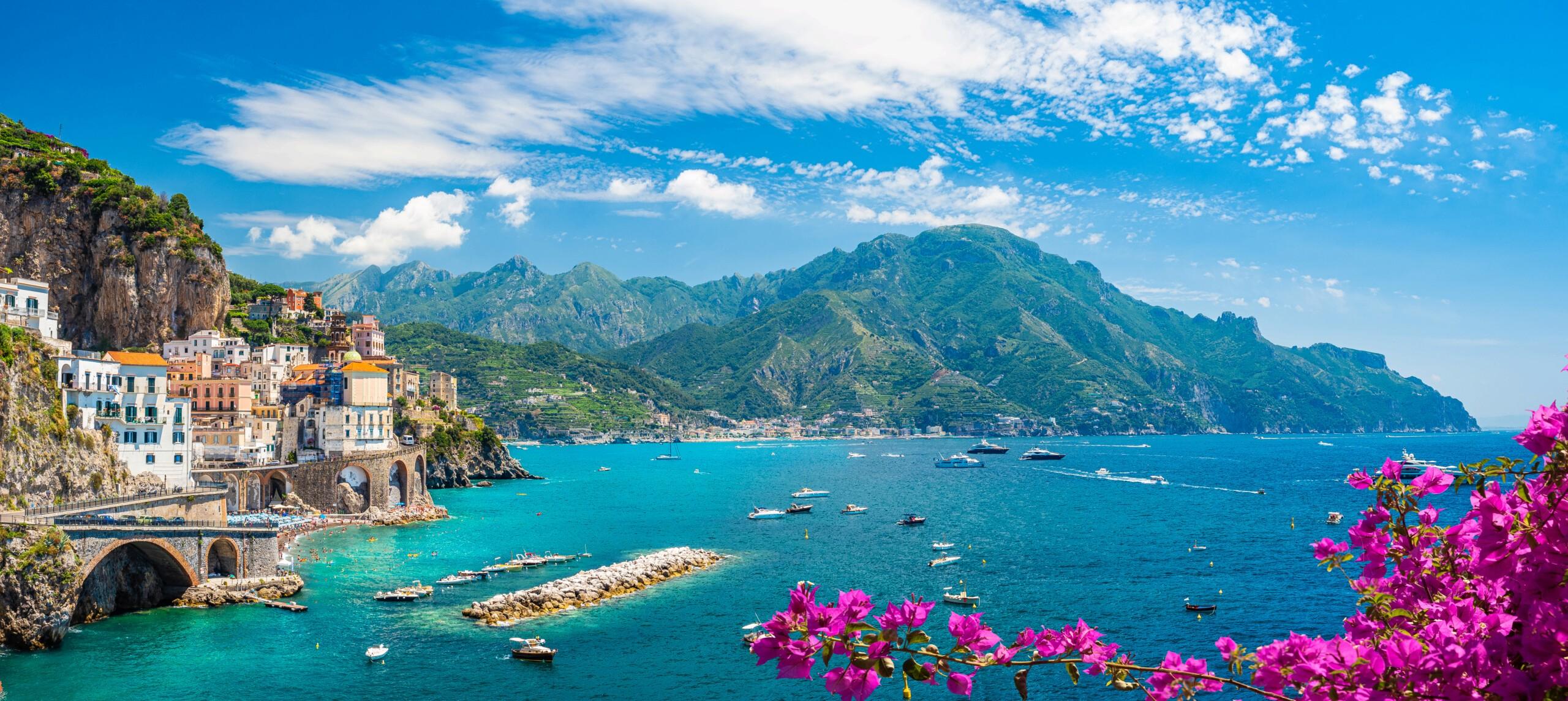 Piekne malownicze plaże Włoch