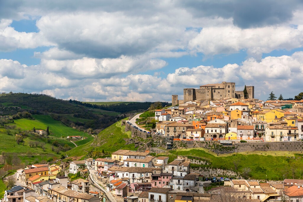The Castle of Melfi in Basilicata is one of the most important medieval castles in Southern Italy